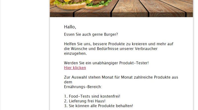 McDonalds Gutschein gewinnen? (Screenshot)