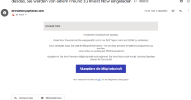 Ist Invest Now seriös? (Screenshot)