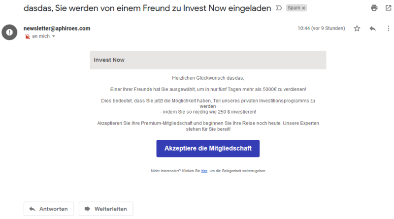 Ist Invest Now seriös? (Screenshot)