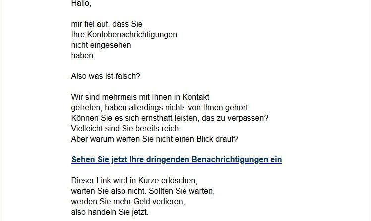 Jan Beckers - was steckt dahinter? (Screenshot)