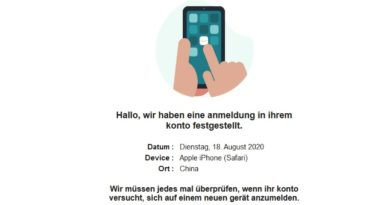 Amazon-Phishing (Screenshot)