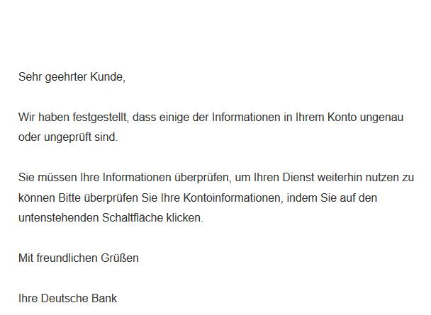Deutsche-Bank-Phishing photoTAN (Foto verbraucherzentrale.nrw)