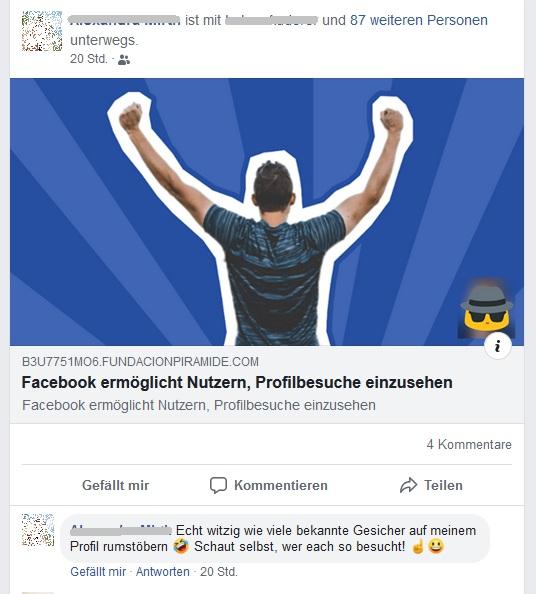 Facebook Profilbesucher