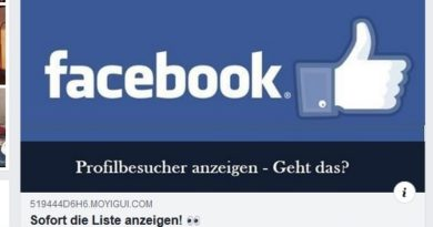 Facebook Profilbesucher einsehen - geht das?(Screenshot)