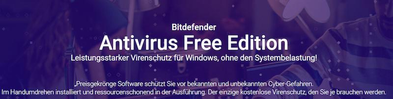 Antivirus Free Bitdefender