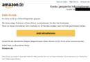 """Amazon-Phishing: """"Konto gesperrte Informationen"""" (Foto verbraucherzentrale.nrw)"""